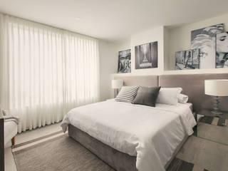 Maria Mentira Studio DormitoriosCamas y cabeceros Textil Gris
