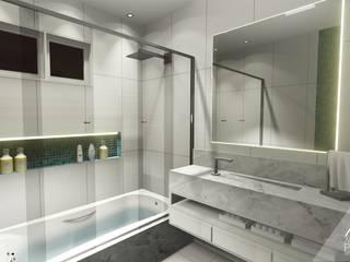 Bagno in stile  di Alice Pucker Design de Interiores, Moderno