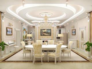 Ruang Keluarga Klasik Oleh ИП Поварова Татьяна Владимировна Klasik