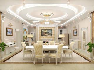 Classic style living room by ИП Поварова Татьяна Владимировна Classic