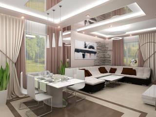 Ruang Keluarga oleh ИП Поварова Татьяна Владимировна, Eklektik