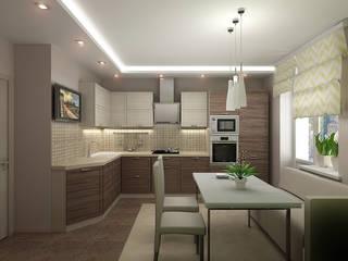 Eclectic style kitchen by ИП Поварова Татьяна Владимировна Eclectic