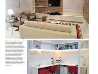 Livings de estilo moderno de Studio Bossa Decoração de Interiores Moderno