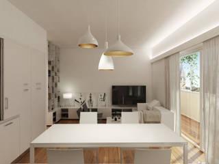 Interior Design for MRA studio:  in stile  di GMZN studio