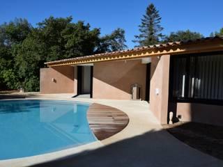 Extension d'une maison à Aix en Provence Maisons méditerranéennes par Grégory Cugnet ARCHITECTE Méditerranéen