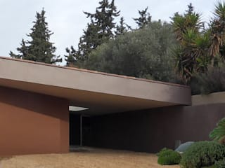 Construction d'une maison à Allauch Maisons méditerranéennes par Grégory Cugnet ARCHITECTE Méditerranéen