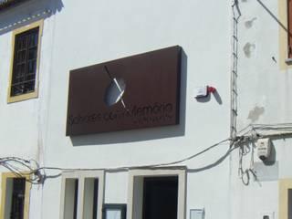 Restaurante Sabores Com Memória Espaços de restauração modernos por Leonor da Costa Afonso Moderno