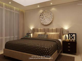 Moderne Schlafzimmer von JESSICA DESIGN STUDIO Modern