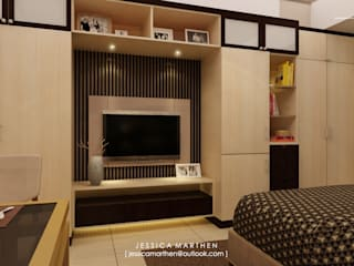 JESSICA DESIGN STUDIO Modern style bedroom