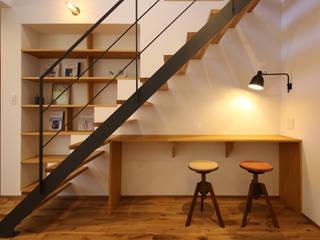 大きな造作窓の家 / zuiun モダンデザインの リビング の zuiun建築設計事務所 / 株式会社 ZUIUN モダン