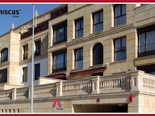 ARENISCAS STONE Case in stile mediterraneo Pietra Beige