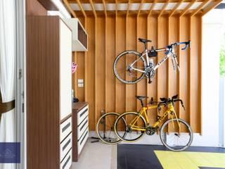 แปลงโฉมทาวน์โฮมธรรมดาให้อบอุ่น - โครงการ Vista Park พระราม5 โดย BAANSOOK Design & Living Co., Ltd.