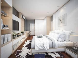 MUJI - โครงการลัดดารมย์ อิลิแกนซ์ วงแหวน-สาทร:   by BAANSOOK Design & Living Co., Ltd.