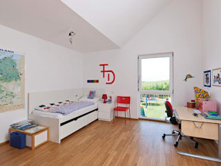 KitzlingerHaus GmbH & Co. KG Boys Bedroom Engineered Wood White