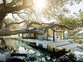 Modern Oak Main Garden Moderne Pools von Ecologic City Garden - Paul Marie Creation Modern