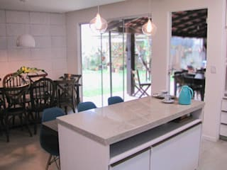 Kitchen by PANORAMA Arquitetura & Interiores, Eclectic