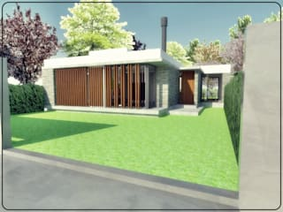 ★CASA LG - GORINA LA PLATA★: Casas unifamiliares de estilo  por SBG Estudio