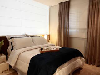Apartamento Decorado Quartos ecléticos por SP Arquitetos Eclético
