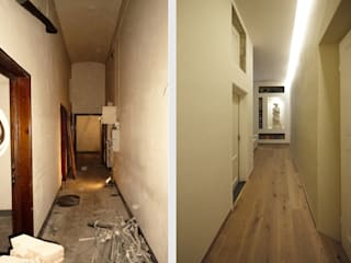 Corridor & hallway by JFD - Juri Favilli Design, Modern