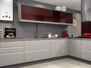 Cozinha Moderna Cozinhas modernas por Lélia Chitarra Moderno