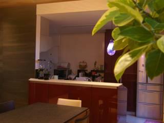 時空を超えて 繋がる リノベーション ~本格日本家屋の再生~ モダンデザインの ダイニング の 株式会社ヴェルディッシモ モダン