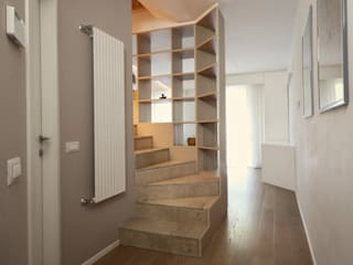 JFD - Juri Favilli Design Minimalist corridor, hallway & stairs
