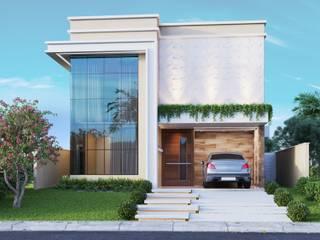 Casa em condomínio privativo por AUPI ARQUITETURA Moderno