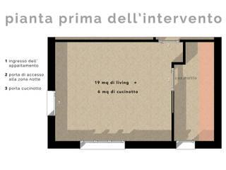 Arredare il Soggiorno con Librerie in Cartongesso:  in stile  di JFD - Juri Favilli Design