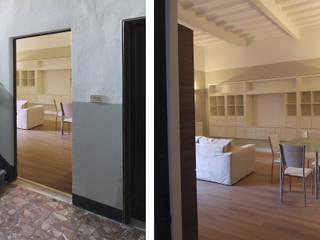JFD - Juri Favilli Design Rustic style corridor, hallway & stairs