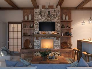 Artichok Design Living room Stone Brown