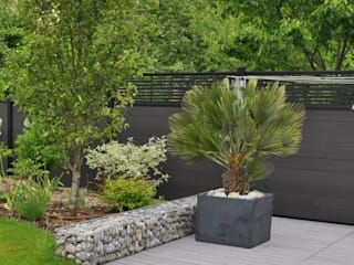 Jardin Chic et Familial Jardin moderne par Sophie Durin | Empreinte Paysagère Moderne