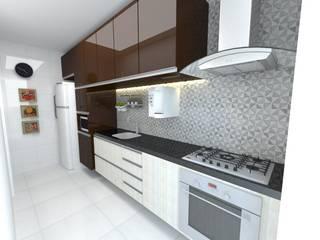 Felicitá Residencial por Dayane Medeiro Arquitetura e Interiores Eclético