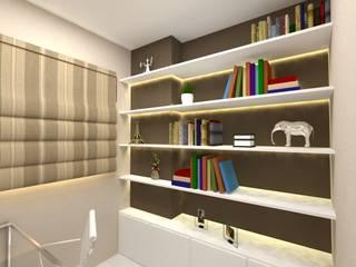 Felicitá Residencial Escritórios ecléticos por Dayane Medeiro Arquitetura e Interiores Eclético