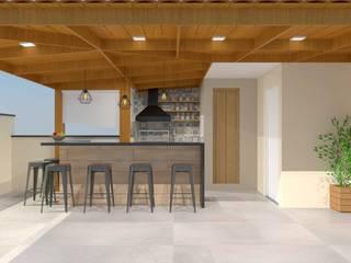Projeto Residencial: Terraços  por b² Arquitetura e Interiores,Moderno