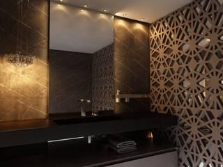 Baños de estilo moderno de Nuriê Viganigo Moderno