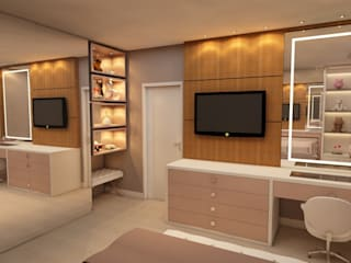 Dormitorios de estilo moderno de Nuriê Viganigo Moderno