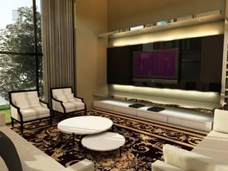 Salones de estilo moderno de Nuriê Viganigo Moderno