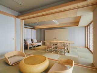 ホテル三楽荘 モダンなホテル の 久和原建築事務所 モダン