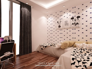 JESSICA DESIGN STUDIO Cuartos de estilo moderno
