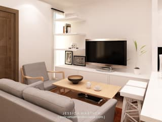 JESSICA DESIGN STUDIO Living room