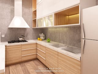 Modern kitchen by JESSICA DESIGN STUDIO Modern