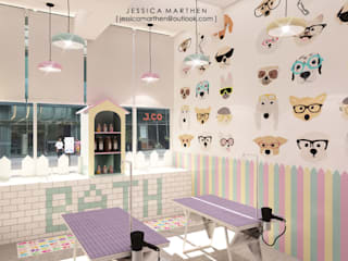 JESSICA DESIGN STUDIO Scandinavian style spa