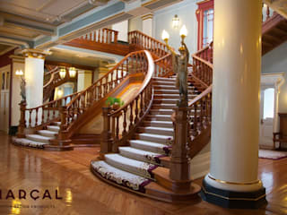 MARÇAL Classic style corridor, hallway and stairs