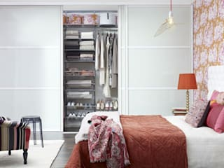 Scandinavian style bedroom by Elfa Manufacturing Poland Scandinavian