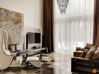 Artichok Design Living room Stone White