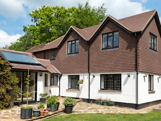 Bespoke roofing glazing and an extra floor extension Classic style houses by Corebuild Ltd Classic