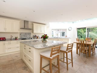 Bespoke roofing glazing and an extra floor extension Classic style kitchen by Corebuild Ltd Classic