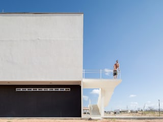 Bloco Administrativo do Campus da UFC em Crateús -CE:   por Custódio Santos Arquitetura
