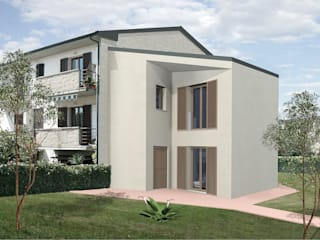 Wooden houses by JFD - Juri Favilli Design, Modern
