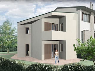 Terrace house by JFD - Juri Favilli Design, Modern